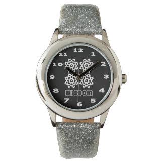 Wisdom Kid's Silver Glitter Watch