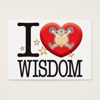 Wisdom Love Man Business Card
