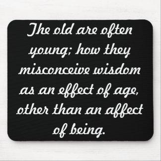 Wisdom Mouse Pad
