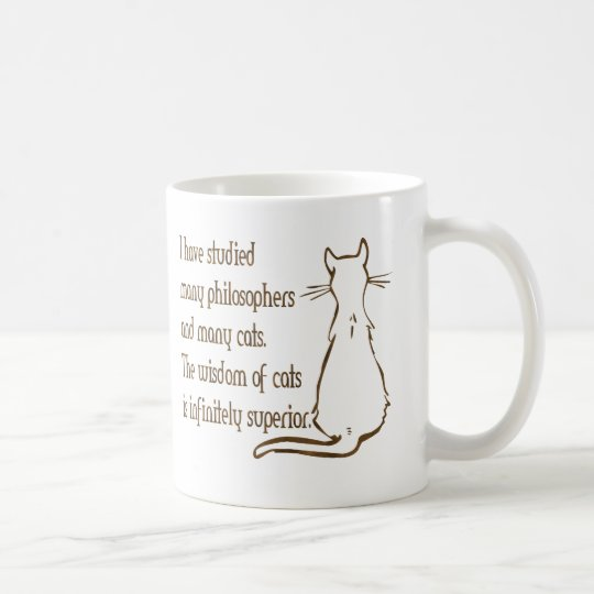 Wisdom of Cats Coffee Mug