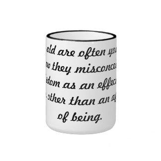 Wisdom Ringer Mug