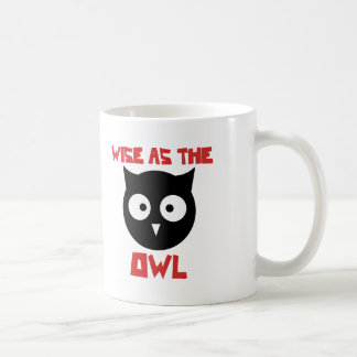 Wise as the Owl Coffee Mug