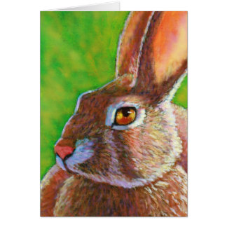 Wise Easter Bunny Card