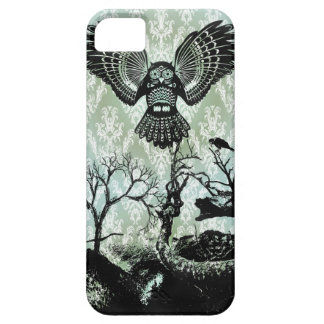 Wise Guy Creepy Owl Products iPhone 5 Cases