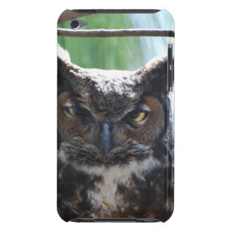 Wise Long Eared Owl iPod Touch Case-Mate Case