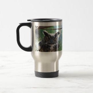 Wise Long Eared Owl Coffee Mug