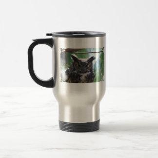 Wise Long Eared Owl Mugs