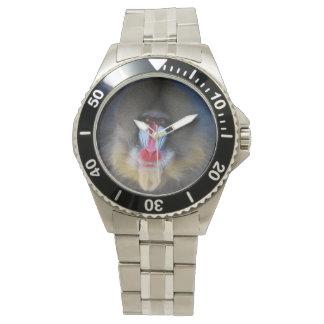 Wise Mandrill Monkey Wristwatch