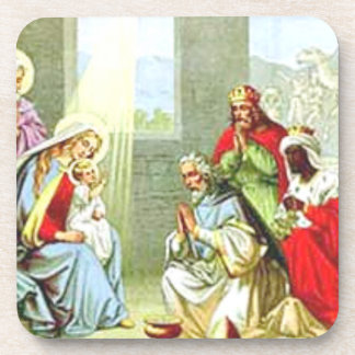 Wise Men At The Nativity Drink Coaster