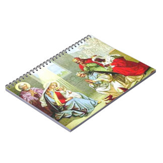 Wise Men At The Nativity Notebooks