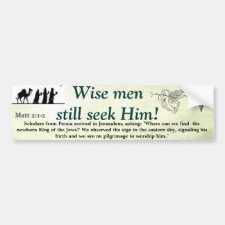Wise Men Bumper Stickers