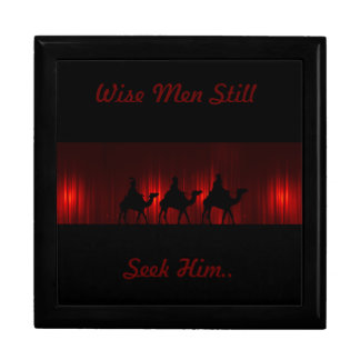 Wise Men Large Square Gift Box