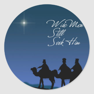 Wise Men Sticker