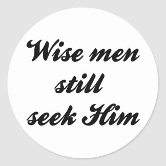 Wise Men Sticker