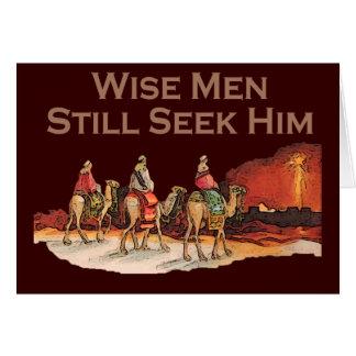 Wise Men Still Seek Him Christmas Cards