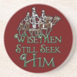 Wise Men Still Seek Him Drink Coasters