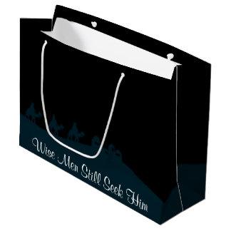 Wise Men Still Seek Him Large Gift Bag
