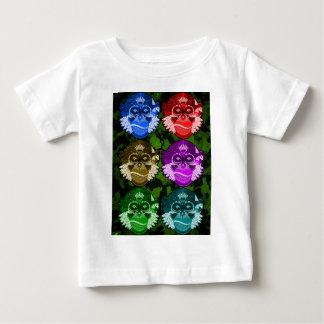 Wise Monkey Face Mask Baby T-Shirt