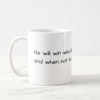 "Wise Mug - ""Know how to win"" Sun Tzu"