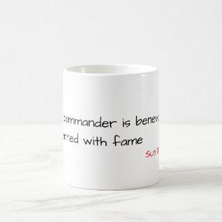 "Wise Mug ""The Commander"" - Sun Tzu"