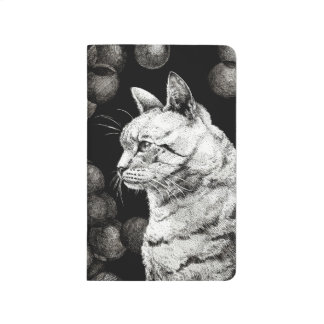Wise Old Cat Notebook Journal