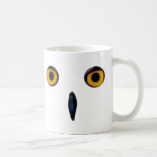 Wise Old Owl Eyes Coffee Mug