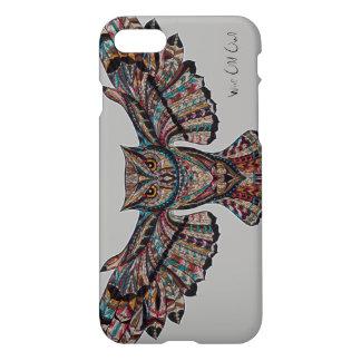 Wise Old Owl Spirit Animal Decorative Art iPhone 8/7 Case