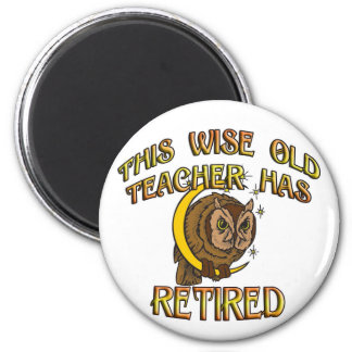 Wise Old Teacher Magnet