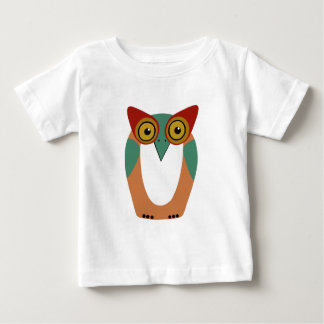 Wise Owl Cartoon Baby T-Shirt