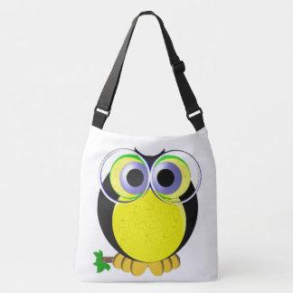 Wise owl crossbody bag