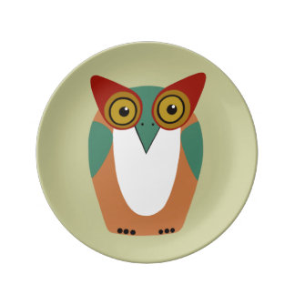 Wise Owl Decorative Plate