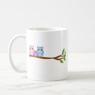 Wise Owl Family Coffee Mug