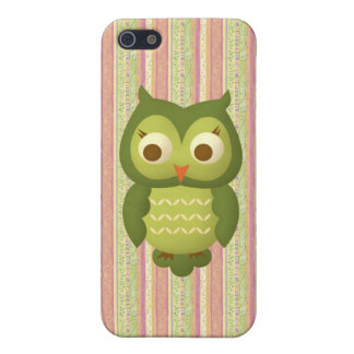 Wise Owl iPhone 5/5S Cases