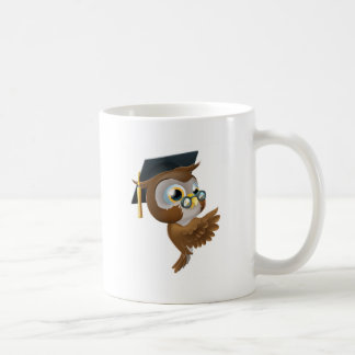 Wise Owl Pointing Sign Mug