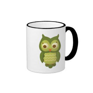 Wise Owl Ringer Mug
