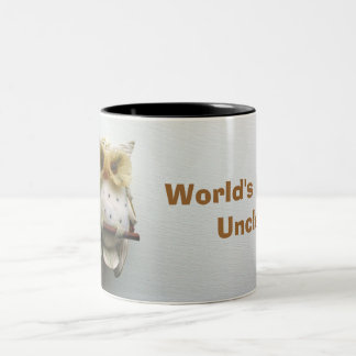 Wise Owl World s Best Uncle Mug