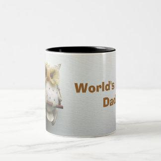 Wise Owl World's Best Dad Mug