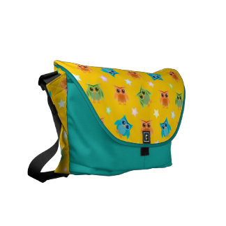 Wise Owls School Courier Bags