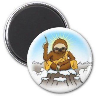 Wise Sloth Magnet