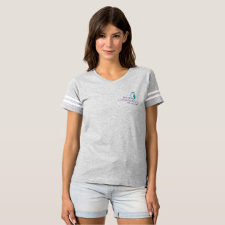 Wise Women's Football Tee