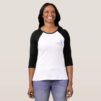Wise Women's Small Logo Raglan Tee
