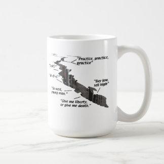 Wisecracks Basic White Mug