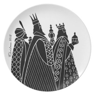Wisemen Decorative Plate