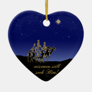 Wisemen Still Seek Him Christmas Ornament