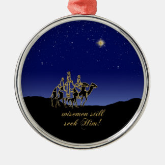 Wisemen still seek Him Ornament
