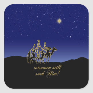 Wisemen Still Seek Him Sticker