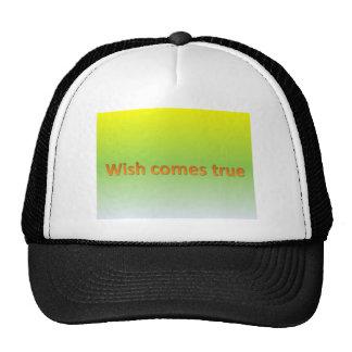 wish comes true cap