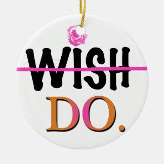 Wish Christmas Ornaments
