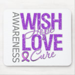 Wish Hope Love Cure Alzheimer's Disease Mousemat