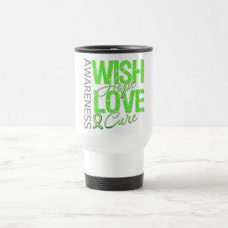 Wish Hope Love Cure Lyme Disease Mug